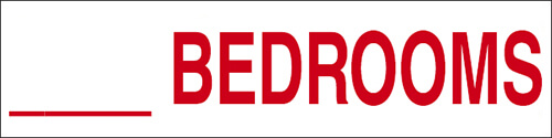 Number of Bedrooms Rider