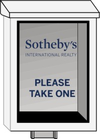 Sotheby S International Realty 174 Real Estate Sign White