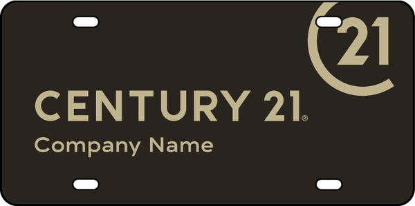 Century 21 Personalized License Plates 6 Quot H X 12 Quot W Steel