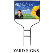 Yard Signs for Independent REALTORS®