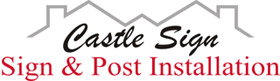 Castle Sign & Post Logo