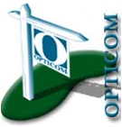 Opticom Post Service Logo