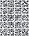 real estate QR Code decal sheet, 22 total
