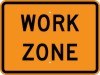 G20-5AP Work Zone (Plaque)-Temporary Traffic Control Sign