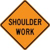 W21-5 Shoulder Work-Temporary Traffic Control Sign