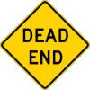 W14-1 Dead End-Warning Sign