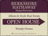 Real Estate Agent Open House Sign Panel, 4mm Corrugated Plastic 18x24
