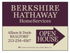 Real Estate Open House Sign Panel, 4mm Corrugated Plastic 18x24