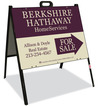 Real Estate For Sale A-frame sign and panel unit, 24 GA steel 18x24