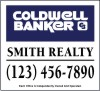 real estate magnet sign for vehicle advertising, 10x11