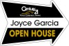 Real Estate Open House Arrow Panel, 4mm Corrugated Plastic 18x24