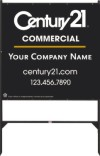 commercial real estate Angle Iron sign Frame and black panel unit, 24 GA steel, 48x48