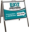 Polylite  A-Frame Sign Unit, 18 x 24