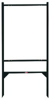 real estate angle iron sign frame, 30x24 - Black