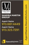 real estate team photo sign panel, 24 ga steel 28x18