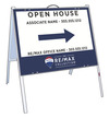 Agent Open House A-Frame and  Sign Panel Unit, 18x24