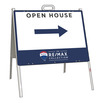 Open House A-Frame and Sign Panel Unit, 18x24