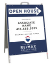 Open House A-Frame and Sign Panel Unit, 24x18