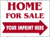 Real Estate Home For Sale Sign Panel, 24 GA Steel 18x24