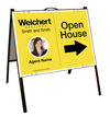 Photo Open House A-Frame and Sign Panel Unit, 18x24