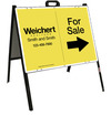 Fior Sale A-Frame and Sign Panel Unit, 18x24 Steel