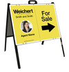 Photo For Sale A-Frame and Sign Panel Unit, 18x24 Steel